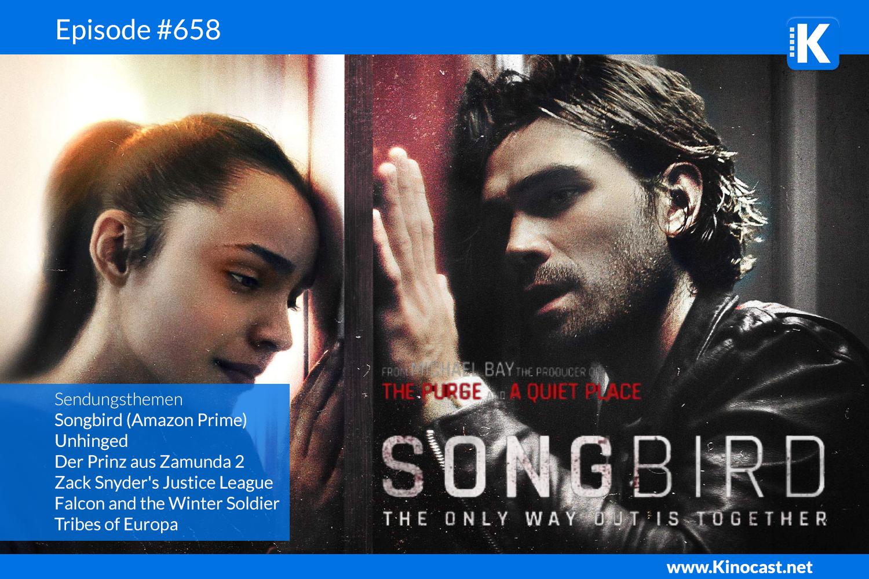 Songbird Zack Snyders Justice League Download Kritik Film german deutsch Podcast