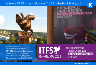 #664: ITFS 2021 Internationales Trickfilmfestival Stuttgart, Festival of Animated Film, Thunder Force (Netflix)