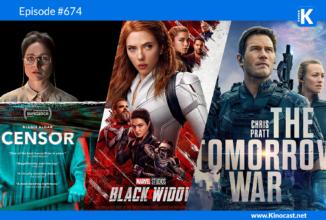 #674: Censor, Black Widow, The Tomorrow War, Fear Street