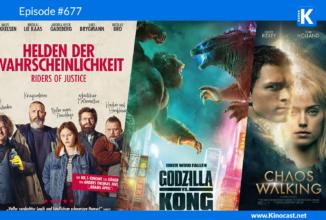 #677: Helden der Wahrscheinlichkeit (Riders of Justice), Chaos Walking, Godzilla vs. Kong, Killers Bodyguard 2, How to sell drugs online fast Staffel 3