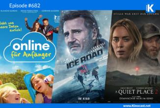 #682: Online für Anfänger (Effacer l'historique), The Ice Road, A Quiet Place 2, Cruella, Tom & Jerry (2021)