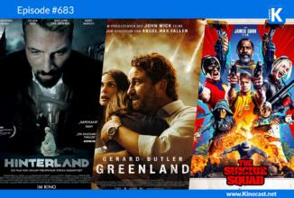 #683: Hinterland, The Suicide Squad (2021), Sweet Girl, Greenland, SchleFaz: Angriff der Riesenkralle