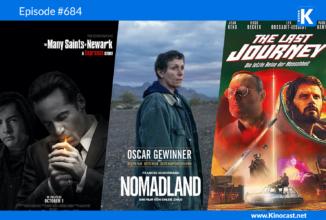 #684: The many Saints of Newark (Sopranos), Nomadland, The Last Journey (OT: Le dernier voyage),