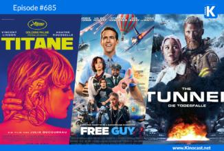 #685: Titane (Goldene Palme von Cannes), Free Guy, The Tunnel – Die Todesfalle, #SchleFaz Kampf um die 5. Galaxis